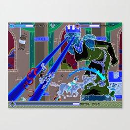 Princess Planet Boss Battle 11 - Royal Pain Canvas Print