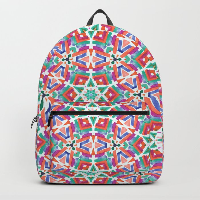 Watercolor Boho Dash 1 Backpack
