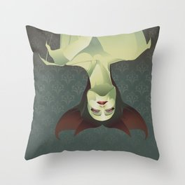 SLEEPING BANSHEE Throw Pillow