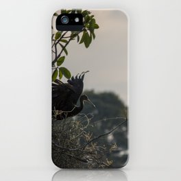 Birds from Pantanal Carão iPhone Case