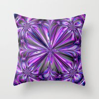angel wings Throw Pillows featuring Angel Wings by Sartoris ART