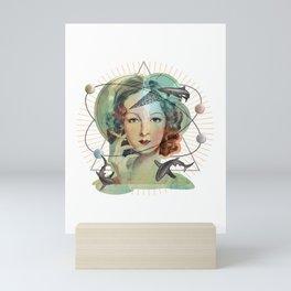 Ms Magritte's Brain Mini Art Print