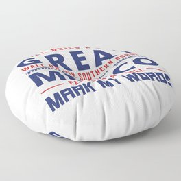 I Will Build A Great Wall Floor Pillow