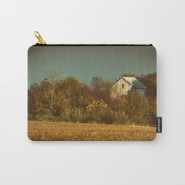 Abandoned Barn Colorized Landscape Photo Carry-All Pouch