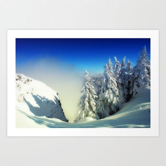 Frozen Top Art Print