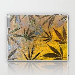 Cannabis leaves Laptop & iPad Skin