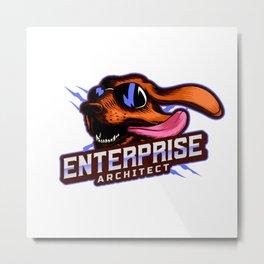 Enterprise Architect Metal Print