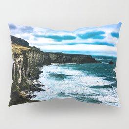 Ireland Cliff Waves Pillow Sham