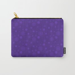 Purple prints Carry-All Pouch