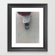 Skateboarding Framed Art Print
