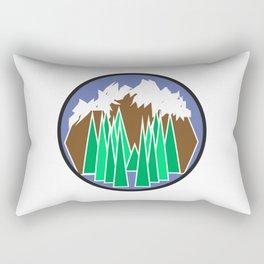 Mountain Getaway Rectangular Pillow