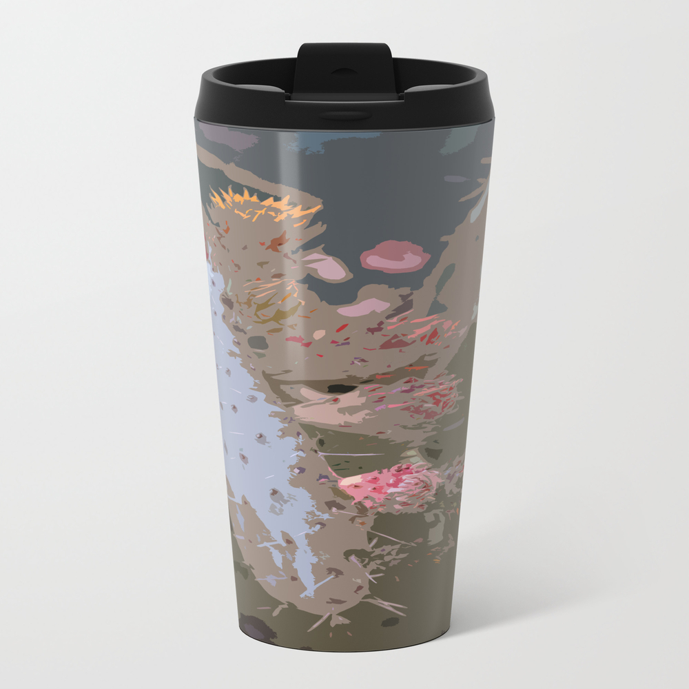 Prickling Pear Abstract Travel Cup TRM8761779