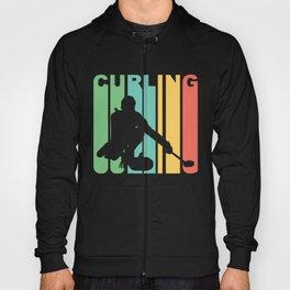 Retro Style Curling Curler Winter Hoody