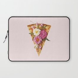 FLORAL PIZZA Laptop Sleeve