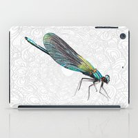 dragonfly iPad Cases featuring Dragonfly by Matt McVeigh