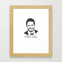 Team Joel Framed Art Print