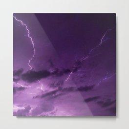 Thunderstorms Metal Print