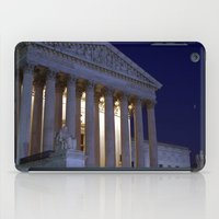 supreme iPad Cases featuring Supreme court by Dr. Tom Osborne