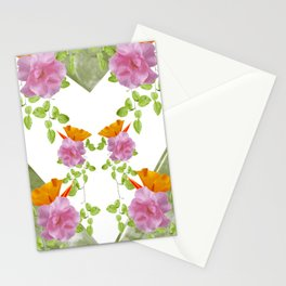 Floral Charm Stationery Cards