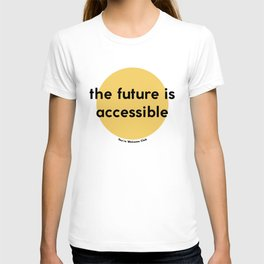 The Future is Accessible – Yellow T-shirt