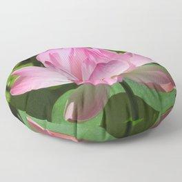 Pink Lotus Bloom Floor Pillow