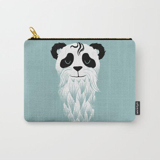 Panda Beard Carry-All Pouch