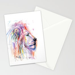 The Almighty Lion Stationery Cards