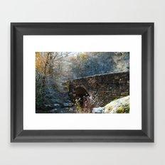 Early Snow Framed Art Print