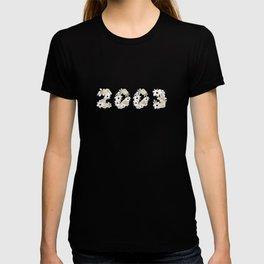 White Flower 2003 T-shirt