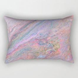 Pink Galaxy Rectangular Pillow