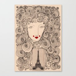 The Spirit of Paris Canvas Print