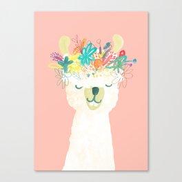 Llama Goddess Canvas Print