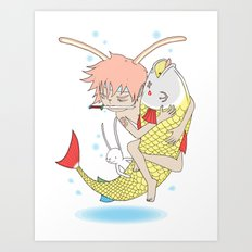 安寧 HELLO - FISHING EP003 Art Print