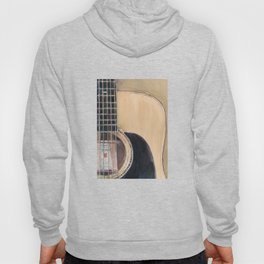 Martin Acoustic Guitar  SSC-D35-14 - from Canada - Watercolor Art Print Hoody