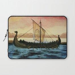 Drakkar, watercolor Laptop Sleeve
