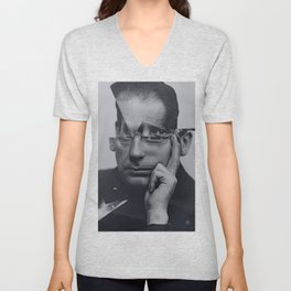 Cut Gropius Unisex V-Neck