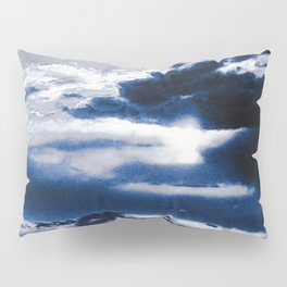 arctic blue landscape Pillow Sham
