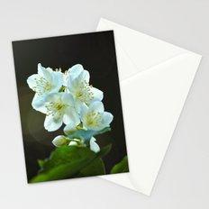 Jasmine flower Stationery Cards