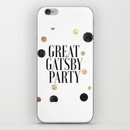 Celebrate Life,Wedding Quote,Anniversary Quote,Valentines Day,Engagement,Confetti,Happy Birthday iPhone Skin
