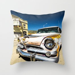 Lowell - Against the Grain Throw Pillow