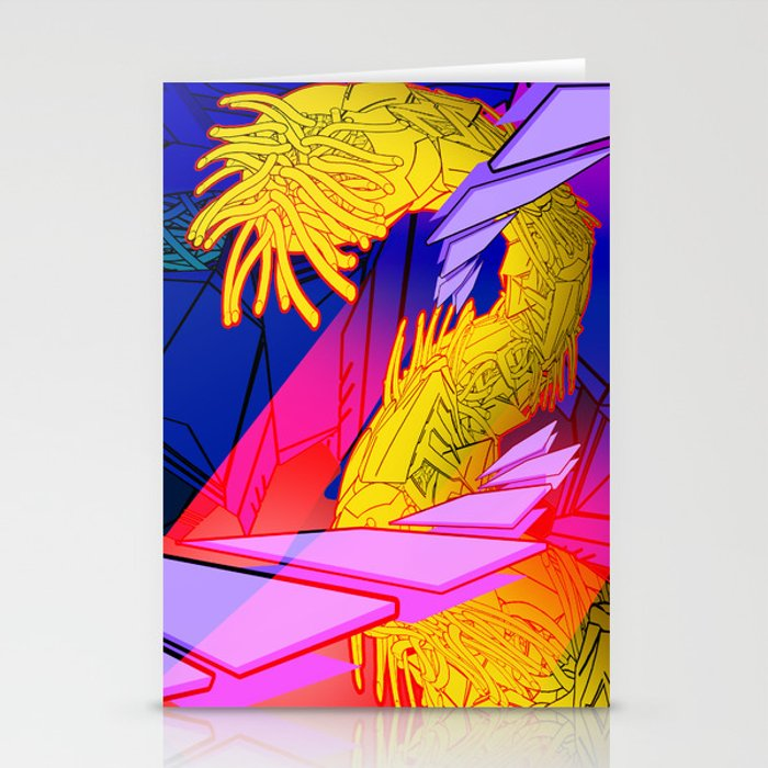 AUTOMATIC WORM 7 Stationery Cards