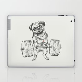 Pug Lift Laptop & iPad Skin