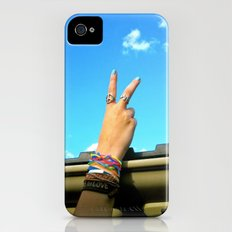 Peace Out iPhone (4, 4s) Slim Case