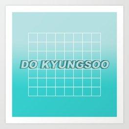KYUNGSOO 2 Art Print