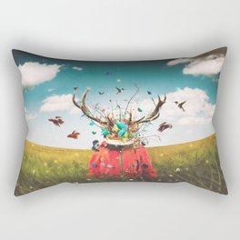 A Philosopher's Mind Trip Rectangular Pillow