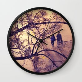 Over the city Wall Clock