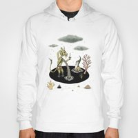 pool Hoodies featuring Shifting Tide Pool by Jon MacNair