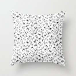 The world of controls Throw Pillow