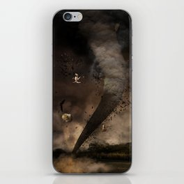 The twister iPhone Skin