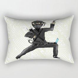 Cyber Ninja Rectangular Pillow